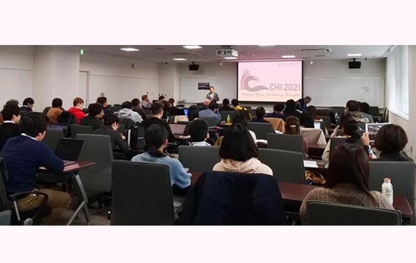 世界を代表するコンピュータ・ヒューマン・インタラクションの研究者が通研に集合