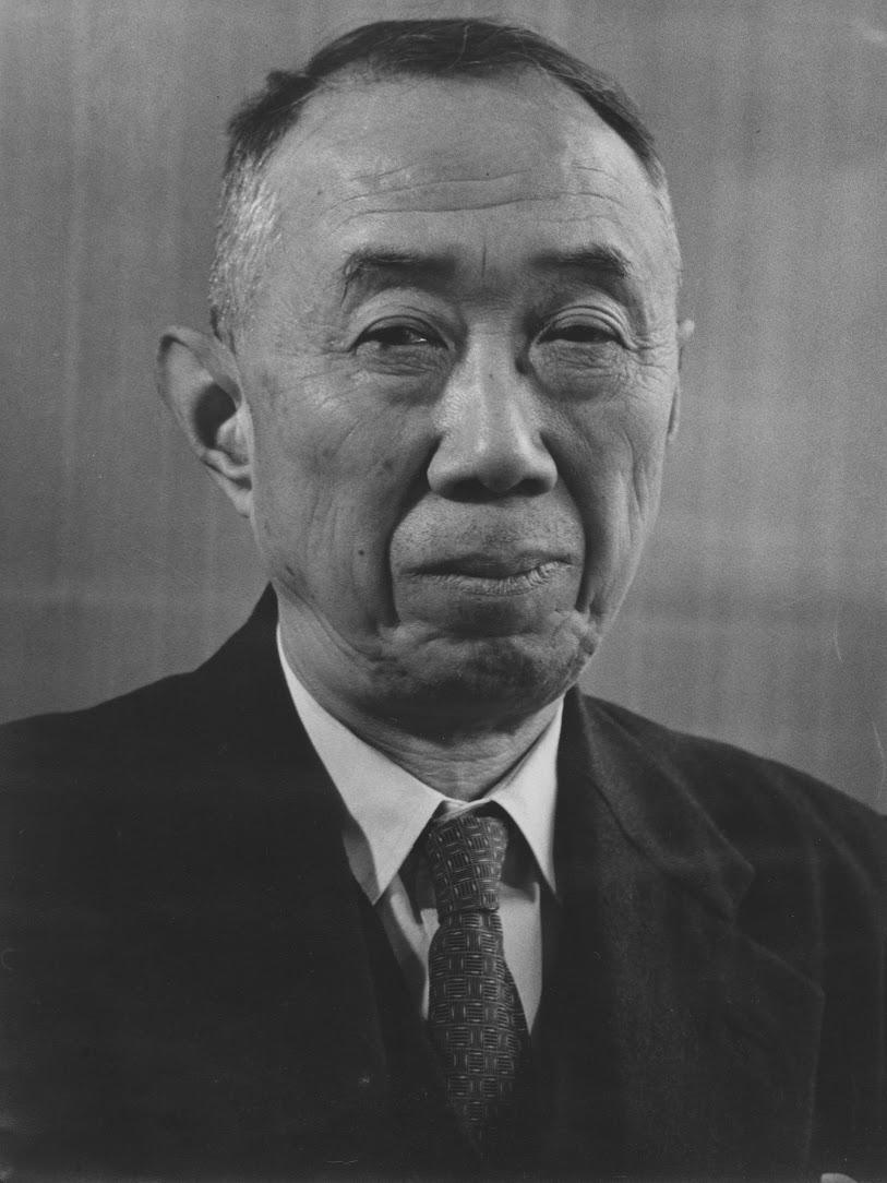 初代電気通信研究所長・抜山平一先生の画像